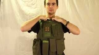 Avengers Usmc MOD-II Quick Release Body Armor Review