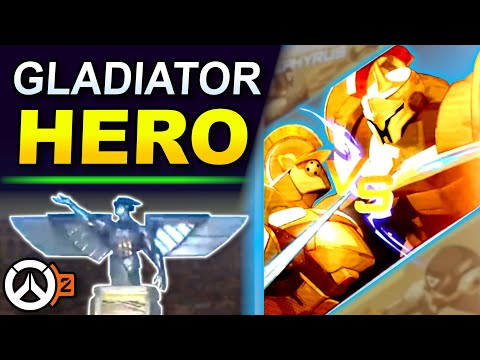 Download Overwatch 2 NEW HERO Analysis - Zephyrus the Gladiator