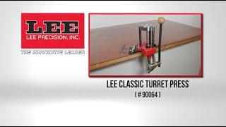 Lee Precision 90064 Classic Four Hole Turret Press