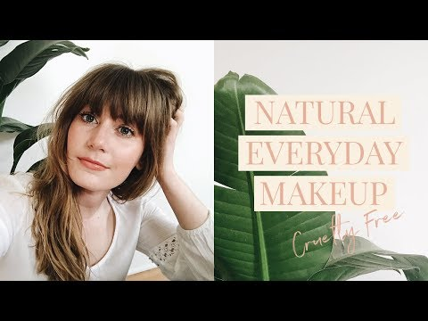 Natural Everyday Makeup for Spring & Summer (Cruelty Free)
