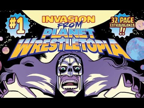 Indie Comic Book Spotlight: Invasion from Planet Wrestetopia #1