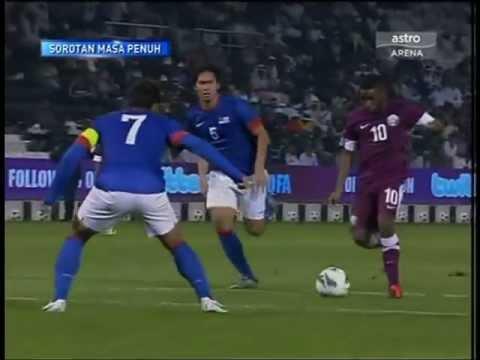 QATAR VS MALAYSIA 6-2-2013  FULL MATCH  HD