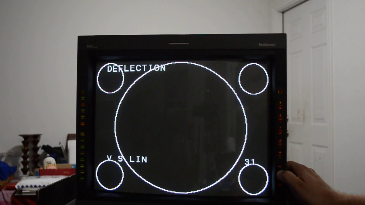 Sony PVM 20L5 : How to Calibrate Geometry