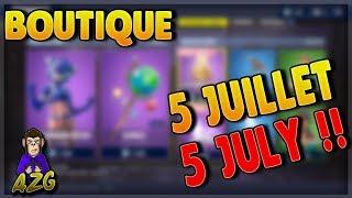 store 5 July 2018 FORTNITE! ~ Item Shop 5 July 2018. ~