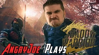 AngryJoe Plays Shadow Warrior 2!