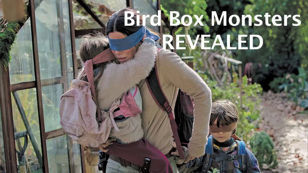 Bird Box Monsters Revealed Shocking Deleted Scene Youtube