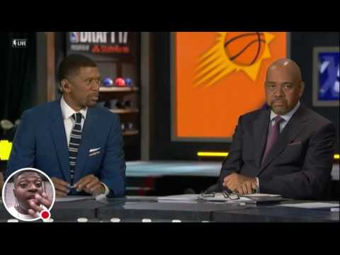 Josh Jackson Drafted 4th by Phoenix Suns LIVE REACTION !!!! 2017 NBA Draft