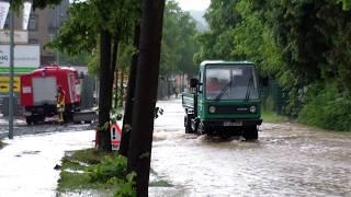 Schweres Unwetter und Massive Überflutung in Adorf