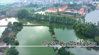 Flycam thôn Phương Nhị - xã Liên Ninh - huyện Thanh Trì