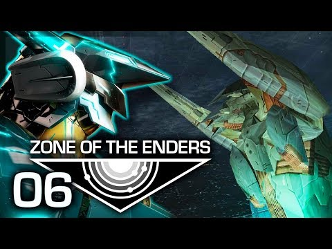 """Zone of the Enders Let's Play w/ TheKingNappy! - Ep 6 """"THE SECOND BOSS"""""""