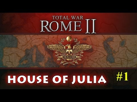 Total War : Rome 2 - Rome Campaign - Part 1 - Continued from Live Stream