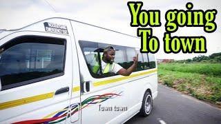 Taxi door operators be like - LEON GUMEDE