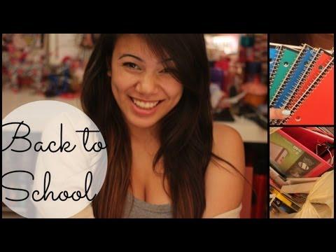 Back To School Supplies Haul 2013!!! + Meetup