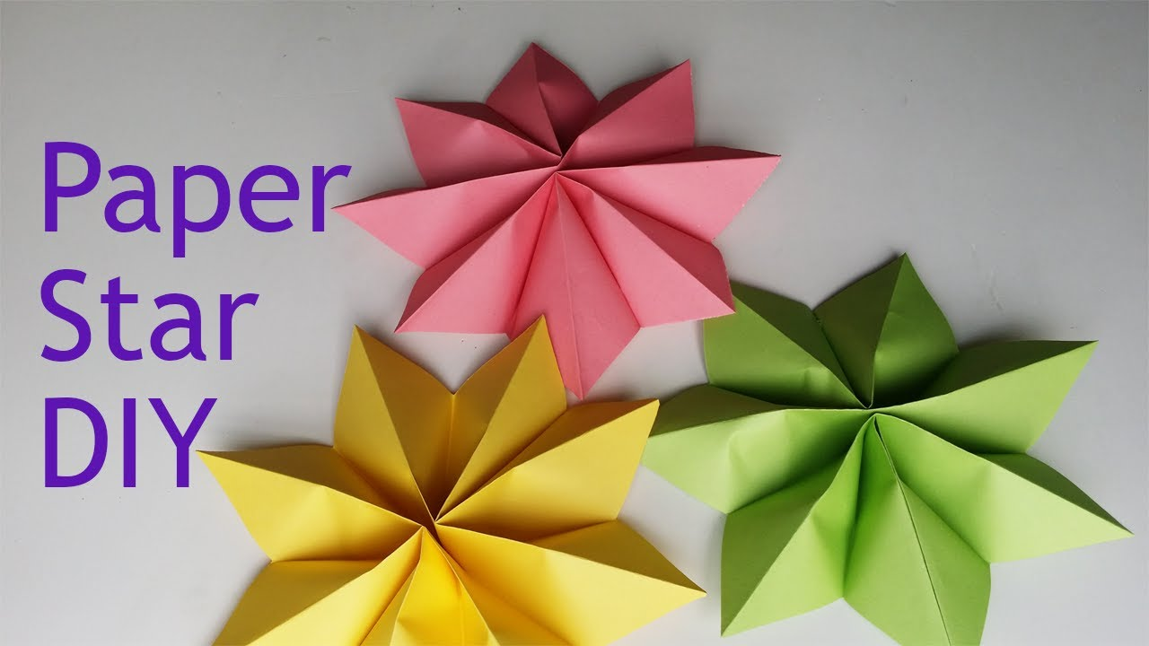 Origami Star - easy. Ideas for Christmas. Origami Dominanta Star ... | 720x1280
