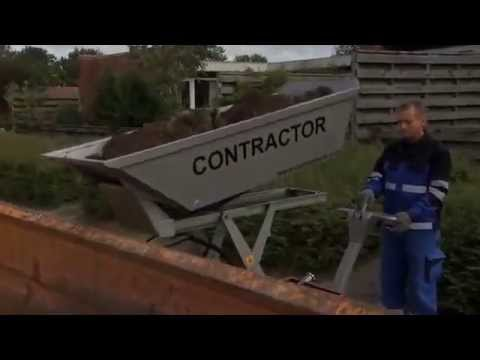 Contractor med sakselift