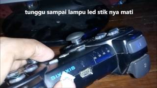 Tutorial konek stik ps3 ke komputer (connect ps3 controller windows 10)