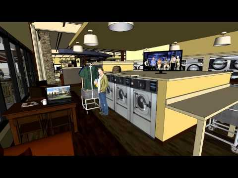 Sheldon Cleaners Laundry Room Cafe