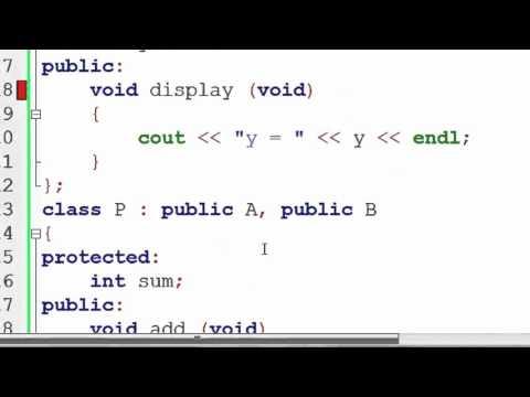 115. Ambiguity Resolution in Inheritance in C++ (Hindi)