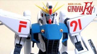 【機動戦士ガンダムF91】MG 1/100 ガンダムF91 Ver.2 0 ヲタファのガンプラレビュー / GUNPLA MG 1/100 Gundam F91 Ver.2.0