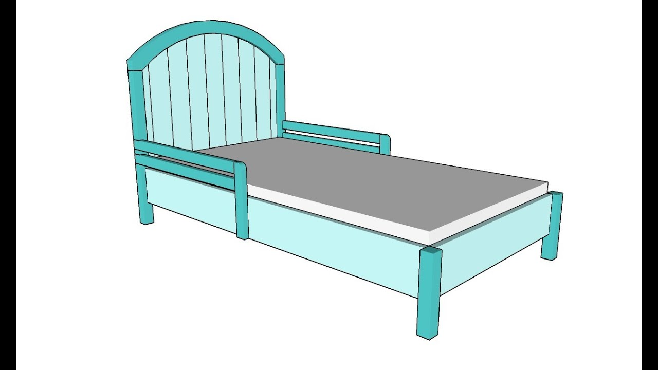 How To Build A Toddler Bed Youtube