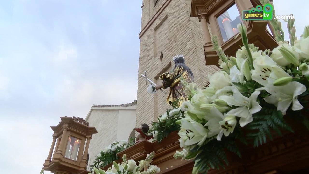 Este domingo día 14, procesión de Nuestra Señora del Rosario y Santa Rosalía por las calles de Gines