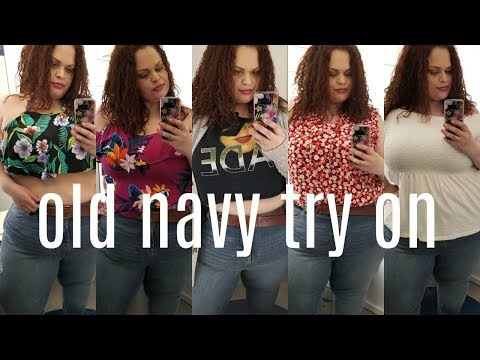 plus size | inside the dressing room @ old navy + haul