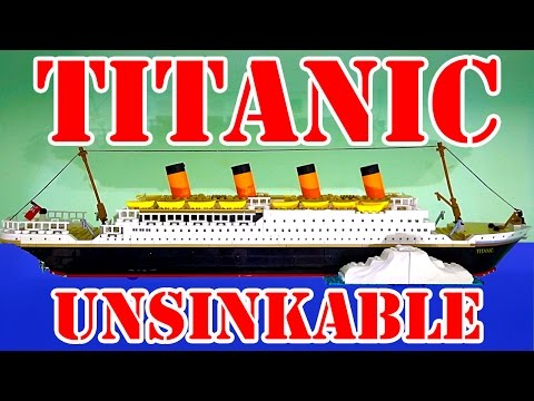 Titanic Cobi Build & Sink The Unsinkable Ship