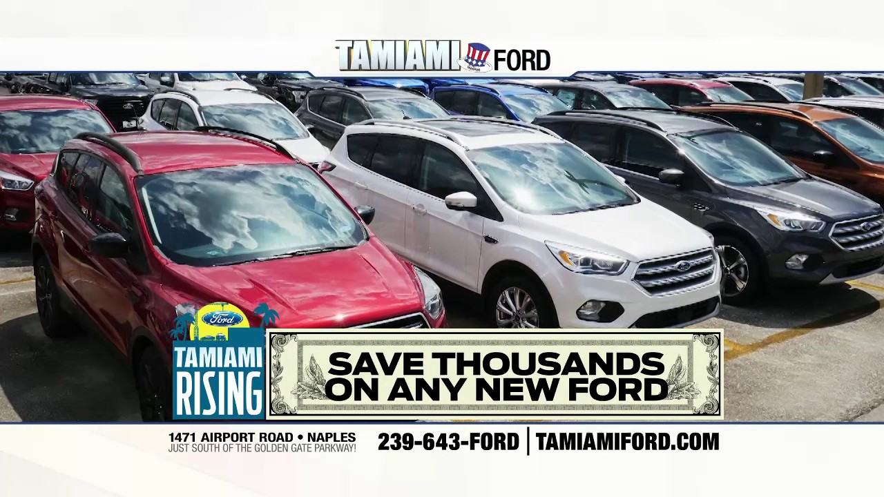 Save a buck on a truck at tamiami ford