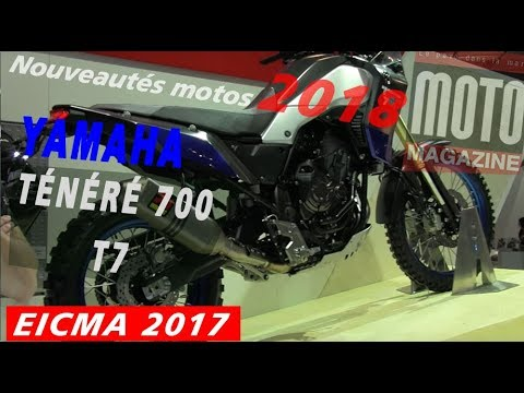 yamaha 700 t n r t7 2018 salon de la moto de milan eicma 2017 youtube. Black Bedroom Furniture Sets. Home Design Ideas