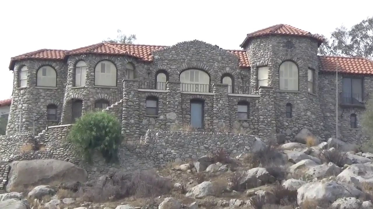 Rock castle house perris california youtube for Castle rock house