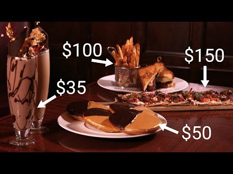 We tried the ultra-decadent secret 'billionaire menu' at Wall Street's oldest steakhouse