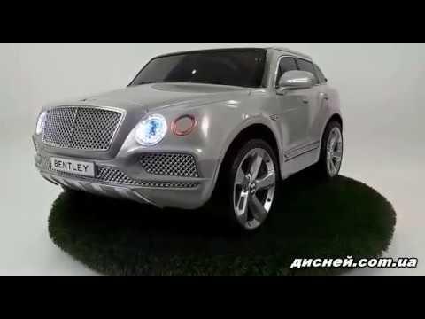 Детский электромобиль Джип JJ 2158 EBLRS-11, Bentley, автопокраска - дисней.com.ua