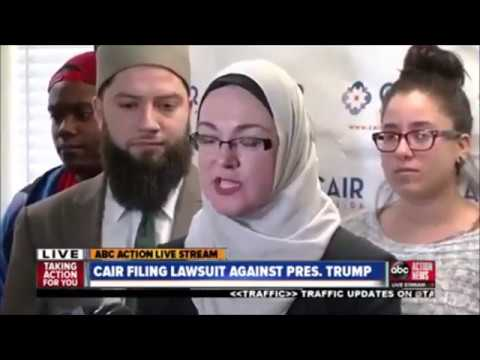 "Tampa Press Conference: Lawsuit Challenging Trump's ""Muslim Ban"""