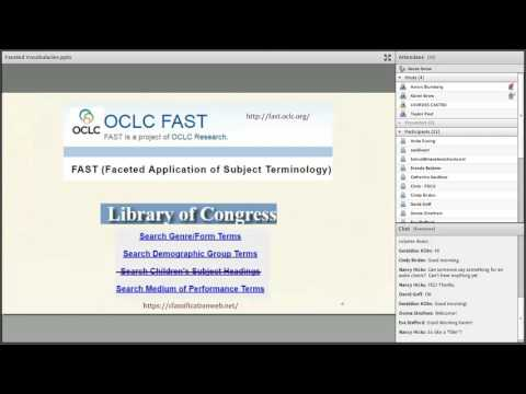 10/21/16: OCLC & Library of Congress Faceted Vocabularies