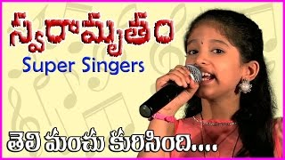 Super Singers - Theli Manchu Karigindi || Ultimate Performance - In Guntur Club