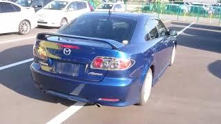 Видео-тест автомобиля Mazda Atenza (синий, GG3S-119383, L3-VE, 2004г.)