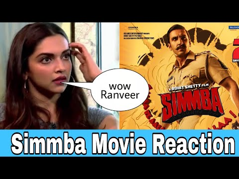 "Ranveer Singh Wife Deepika Padukone Review And Reaction On ""Simmba"" After Watching, Sara Ali Khan"
