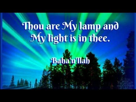 Enjoy A beautiful Baha'i prayer