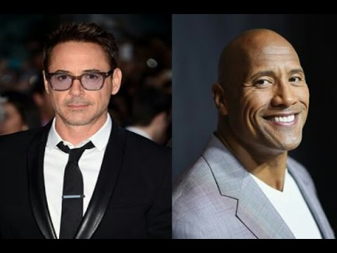 Top 10 highest paid Hollywood actors 2016 -17