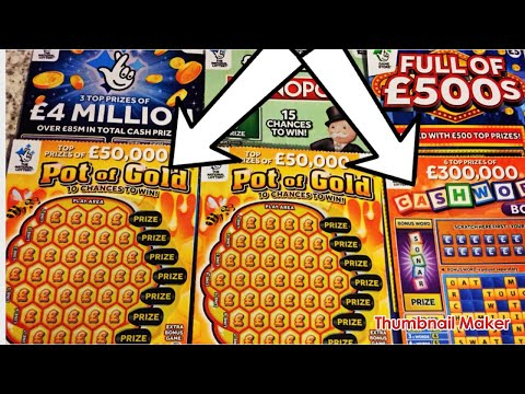 Scratch Cards From National Lottery