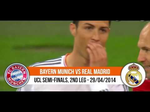 Bayern Munchen VS Real Madrid 0-4  Semi Final Liga Champion 29/04/2014