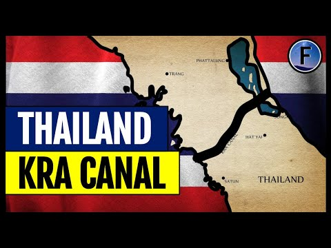 Thailand's Plans for a $28 Billion Canal Across Itself