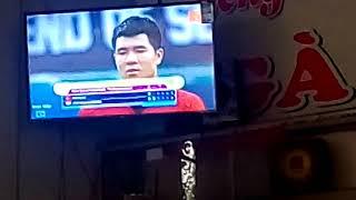 Quả penalty cân não giữa U23 việt nam và U23 UE