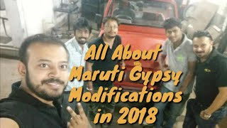 All About Maruti Gypsy Modifications in 2018 Part IV