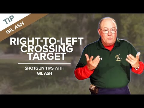 The Right-to-Left Crossing Target - Sporting Clays Tip