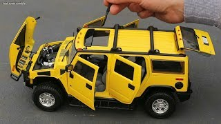 1/18 Hummer H2 2003 from Entourage TV series Manufacturer: Highway61 / Greenlight Article ID: HWY-18015 Features: - Steerable front wheels - Openable 4 ...