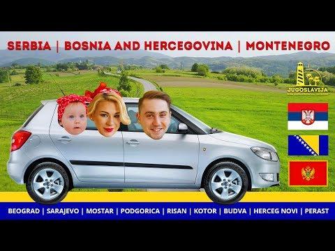 Trip to Jugoslavia 2017  (Serbia | Bosnia and Hercegovina | Montenegro) 4k Mavic/gopro