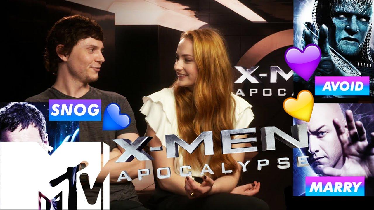 Download X-Men: Apocalypse Cast Play Snog/Marry/Avoid: X-MEN EDITION | MTV Movies