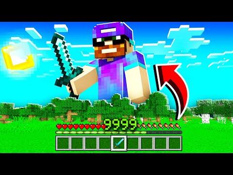 Minecraft MAIS mon XP = ma TAILLE ! (trop cheaté)