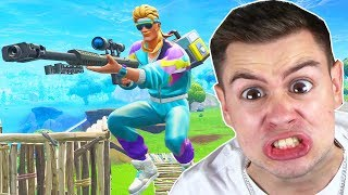 NOOB spielt SNIPER in Fortnite ..